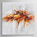 Hand Painted Oil Painting Abstract Ballet Dancer with Stretched Frame