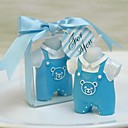 Baby Shower Baby-Kleid-Baby Insgesamt Geburtstag Kerze (weitere Farben)