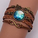 Eruner®Handmade Fashion Women's Pretty  Galaxy  Cosmic  Moon Bracelets inspirational bracelets