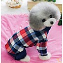 Leisure Cowboy Plaid Cotton Stitching Shirts for Dogs Cats (Assorted Colors, Sizes)