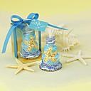 Stearinljus ( Blå Baby Shower