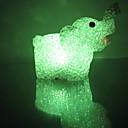 Elephant EVA Crystal Color-changing Night Light
