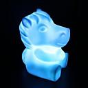 cheval rotocast lumière de nuit de changement de couleur