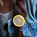 Sweet Forest Style Lemon Piece Acrylic Barrettes (1 Pc)(More Color)