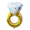 43 pouces de ballon de partie du jour de diamant bague en aluminium membrane mariage valentine