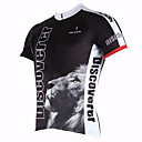 PaladinSport Men's Lion Spring and Summer Style 100% Polyester Short Sleeved Cycling Jersey