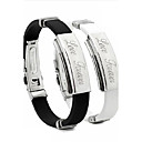 Personalized Unisex Fashion Bracelet Stainless Steel