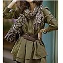 alla moda di alta wasit delle donne a strati abito plissettato
