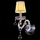 Crystal/Mini Style Wall Sconces/Candle Wall Lights , Modern/Contemporary E12/E14 Glass