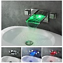 Modern - DI Messing - LED / Waterval (Chroom)