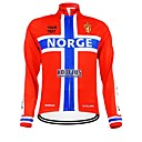 KOOPLUS Unisex Spring Autumn Customized Cycling Clothing Norway Long Sleeve Cycling Jersey