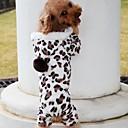 Dog Coat Dog Clothes Pet Apparel - Brown Leopard grain