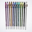 12 Vivid Color Glitter Liner Eyebrow Pencils and  Eyeshadow Pens