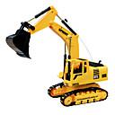 DZD 3823 rc bil engineering udgravning fjernbetjening gravemaskine legetøj lastbil med lys lyd