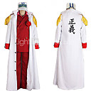 One Piece Foxy ref Admiral Akainu Marine Uniform Cosplay Costume