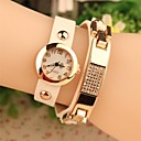 Women's 2015 The Latest  Fashion Leather Japanese Quartz Watch(Assorted Colors)