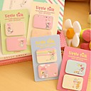 Little Girl Self-Stick Notes Set(1 PCS Random Color)