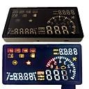 veicolo di combustibile head-up display velocità del consumo di cellulare OBD strumenti diagnostici
