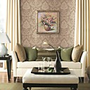 Wall Paper Wallcovering, Classic Floral Pure Paper WallPaper