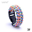 Lureme® Paracord Camouflage Survival Cord Children Short Bracelet