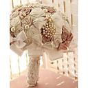 luxe strass perles de mariage bouquets de mariée accessoires de style européen des bouquets de mariage fleur rose