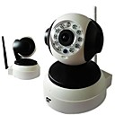 IP-kamera PTZ - Indoor - Day Night/Motion Detection/Dual Stream/Remote Access/IR-leikkaus/Wi-Fi Protected Setup/Plug and play