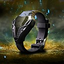 Men's Hot Style Military Watch Head of The Snake Dial Quartz Digital LED