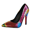 Women's Shoes Stiletto Heel Pointed Toe Pumps with Animal Print Shoes
