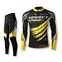 SPAKCT Men's Cycling Suits Long Sleeve Bike Spring / Autumn Breathable / Quick Dry / Wearable Black M / L / XL / XXL / XXXL