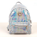 Women Sports/Casual PU Zipper Backpacks