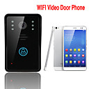 ENNIO WiFi Wireless Video Door Phone  Intercom System IR Night Vision Home Improvement Visual Door Ring