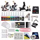 professionella tattoo kit 3 översta maskiner 10 färgbläck
