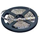 JIAWEN® 5 M 300 3528 SMD 웜 화이트 / 화이트 컷테이블 / 연결가능 25 W 유연한 LED 조명 스트립 DC12 V