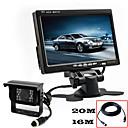 RenEPai® 7 Inch HD Monitor +  BUS 170°HD Car Rear View Camera Waterproof Camera Cable length 10M, 16M, 20M,