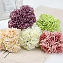 Polyester Pæoner Kunstige blomster