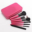 7 Rose Iron Boxed Makeup Brush Set