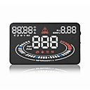New 5.5'' E300 Car HUD Head Up Display Plug and Play Connectivity with Any OBDII or EUOBD Capable Vehicle