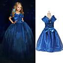 Girl's Bow Organza Ball Gown Cinderella Princess Dress