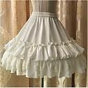 Doux Sans manche Court Blanc / Noir / Incanardin Plastique Renforcé de Fibres Lolita