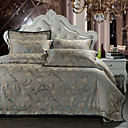 Cotton Art jacquard Bedding Series Luxury 4 Piece Duvet Cover Set,Queen/King Size