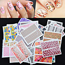 Cartoon / Lovely / Punk / Wedding Finger 3D Nail Stickers Acrylic 50 10*7.7*3