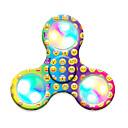 Fidget spinners Hilandero de mano Juguetes Tri-Spinner Spinner LED Plástico EDCLuz LED Alivio del estrés y la ansiedad Juguetes de