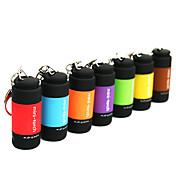 Linternas LED Linternas Llavero Mini Impermeable Caucho para