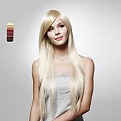 sin tapa largas rectas de alta calidad colores sintéticos peluca de pelo disponibles múltiples