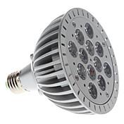 E26/E27 LED-spotlys PAR38 12 Højeffekts-LED 1200 lm Lilla Vekselstrøm 85-265 V