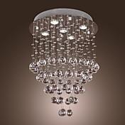 シャンデリア 埋込式 ,  現代風 その他 特徴 for クリスタル 電球付き メタル リビングルーム ベッドルーム ダイニングルーム