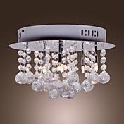 Lámpara Chandelier de Cristal con 6 Bombillas - GESEKE