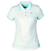 女性用 半袖 速乾性 高通気性 Tシャツ トップス のために レジャースポーツ ポリエステル100% S M L XL XXL