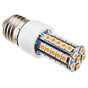 5W E26/E27 LEDコーン型電球 T 41 SMD 5050 400 lm 温白色 交流220から240 V