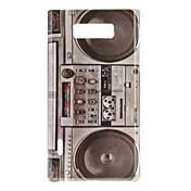 Radio Caso duro del patrón del estilo retro para LG Optimus L7 P705